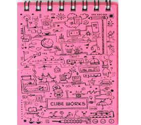MATRIKAS CUBE WORK RING BOOK A7