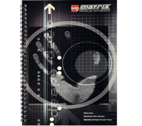 MATRIX SPIRAL OFFICE PAD B5 100