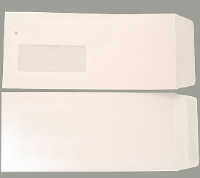 MAIL FAST KRAFT WINDOW 90 GSM 10.5 X 4.5 INCHES
