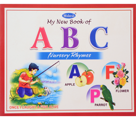MY NEW BOOK OF ABC Nursery rhymes